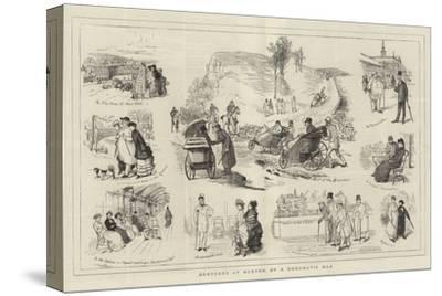 Sketches at Buxton, by a Rheumatic Man
