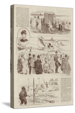 Sketches at Trouville