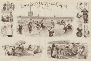 Sketches at Trouville by Randolph Caldecott
