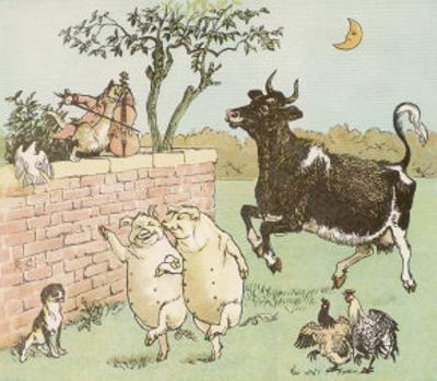 The Cow Jumped Over the Moon by Randolph Caldecott