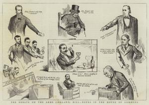 The Debate on the Arms (Ireland) Bill, Notes in the House of Commons by Randolph Caldecott