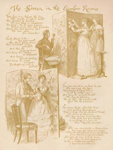 'The Screen in the Lumber Room', 1886 by Randolph Caldecott