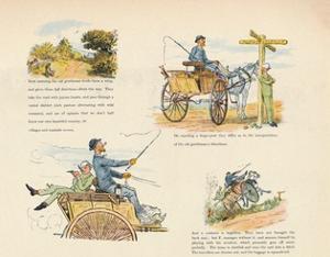 'The Strange Adventures of a Dog-Cart', 1888, (1946) by Randolph Caldecott