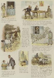 The Strange Adventures of a Dog-Cart by Randolph Caldecott