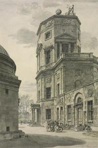 The Radcliffe Observatory, Oxford by Randolph Schwabe