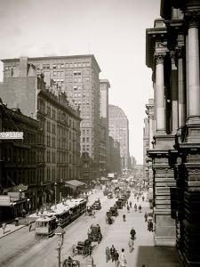 Randolph St., East from Lasalle St., Chicago