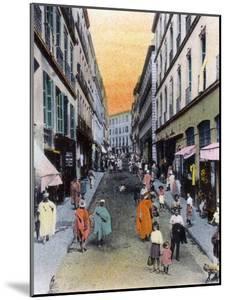 Random Street, Algiers, Algeria, Early 20th Century