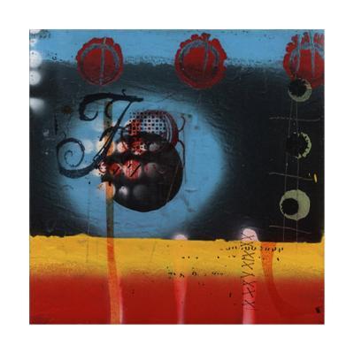 Random Thoughts IV-Ricki Mountain-Collectable Print
