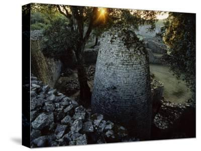 The 8th Century Conical Tower and Stone Enclosure Ruins, Great Zimbabwe Ruins