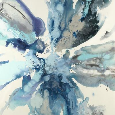 Blue Flower Explosion