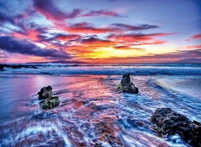 Dreaming of Hawaii: Hawaiian Beach Sunset by Randy Jay Braun