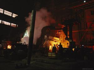 Workers Smelt Nickel in Heavy Polluting, Antiquated Factories by Randy Olson