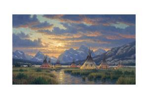 Blackfeet of the Rockies by Randy Van Beek