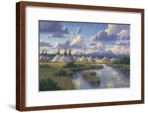 Chief Joseph of the Nez Perce by Randy Van Beek