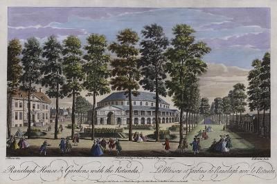 Ranelagh House and Gardens with the Rotunda, London, 1745-Thomas Bowles-Giclee Print