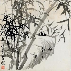 Leaf C, from 'tian Jingzhai Mozhu Ce', from Rugao, Jiangsu Province by Rang Tian