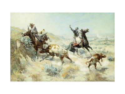Range Mother-Charles Marion		 Russell-Giclee Print