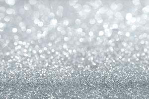 Silver Glitter Background by Rangizzz
