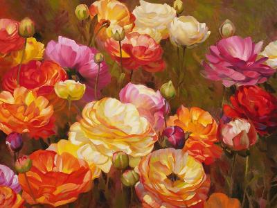 Ranunculus Garden-Emma Styles-Art Print