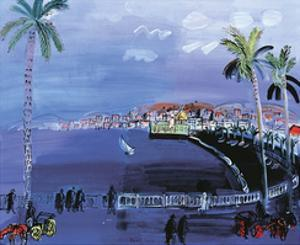 Baie Des Anges, Nice c.1926 by Raoul Dufy