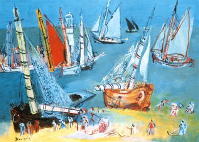 Bateaux Dans Ie Port