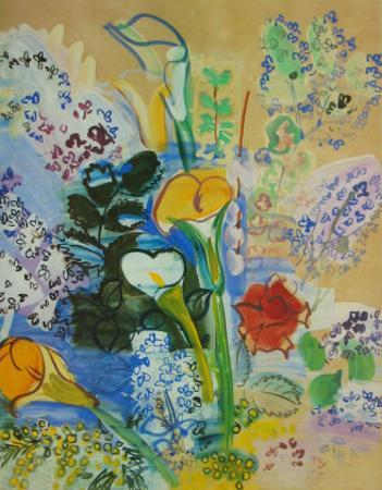 Bunch of Arum by Raoul Dufy