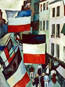 Dufy: Flags, 1906 by Raoul Dufy