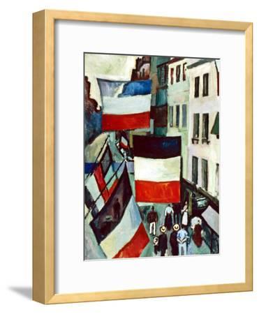 Dufy: Flags, 1906