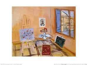 L'Atelier au Bouquet by Raoul Dufy