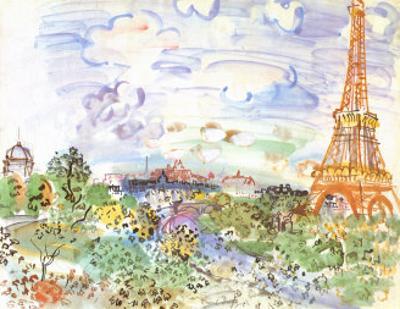 La Tour Eiffel, c.1935