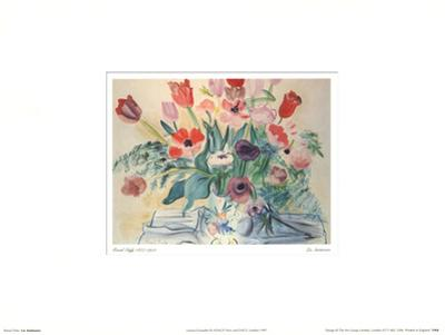 Les Anemones by Raoul Dufy
