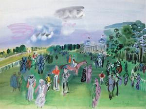 Longchamps by Raoul Dufy