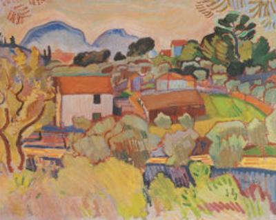 Riviere by Raoul Dufy