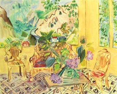 Vernet-les-Bains by Raoul Dufy