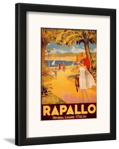 Rapallo-Riviera Ligure-Framed Art Print