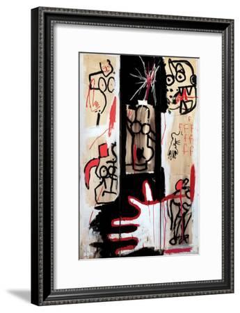 Rape of Roman Torsos-Jean-Michel Basquiat-Framed Giclee Print