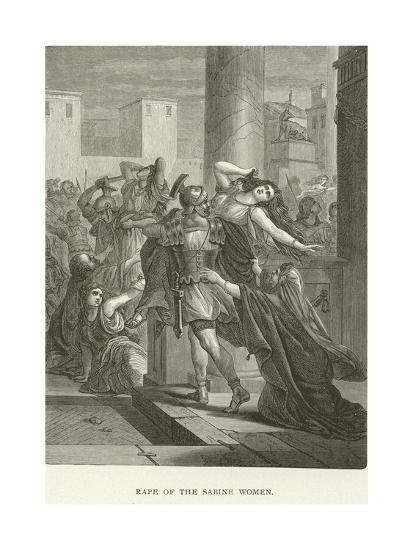 Rape of the Sabine Women--Giclee Print