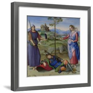 An Allegory (Vision of a Knigh), C. 1504 by Raphael