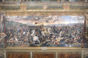 Constantine's Battle at the Milvian Bridge by Raphael