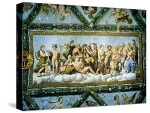 Council of the Gods, 1517-18 by Raphael