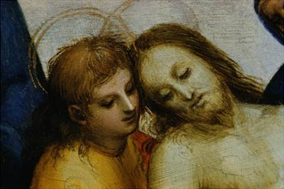 Detail of Jesus and Saint Nicodemus from Pieta