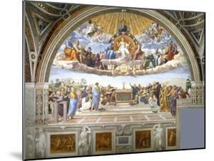 Disputation of the Holy Sacrament by Raphael