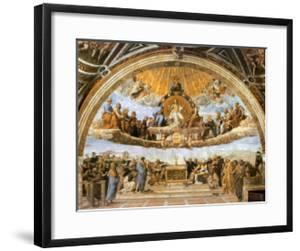 Dispute at the Eucharist by Raphael