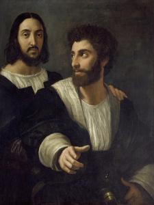Double Portrait by Raphael