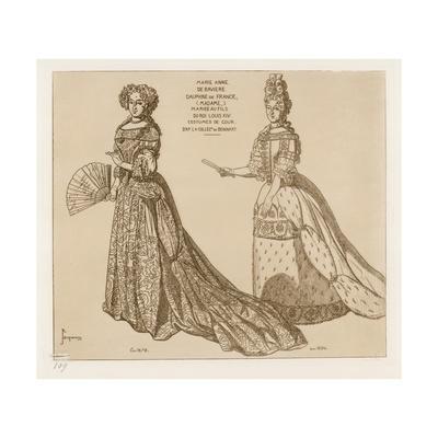 Costumes De Cour, Marie Anne De Baviere