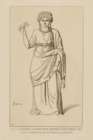 Galla Placidia Imperatrice, Regente D'Occident, 430