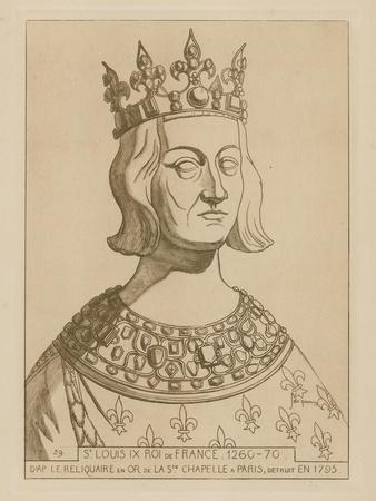 St Louis Ix, King of France, 1260-1270
