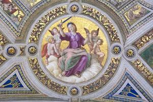 Justice, 1508 by Raphael