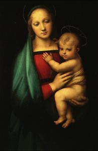 Madonna and Child, Called Madonna of the Grand Duke by Raphael