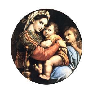 Madonna Della Seggiola, 1514 by Raphael